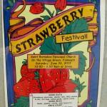 Strawberry Festival 2012 poster.