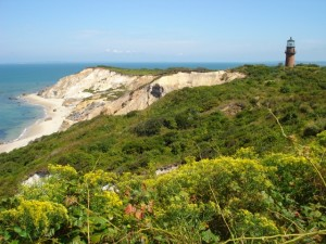 Red clay cliffs of Aquinnah