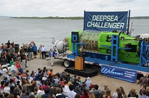 James Cameron donates sub to Woods Hole, MA on Cape Cod