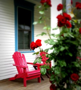 porches in Woods Hole