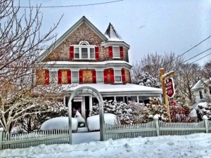Romantic winter B&B on Cape Cod