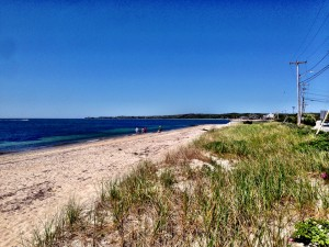 Falmouth and Woods Hole beach