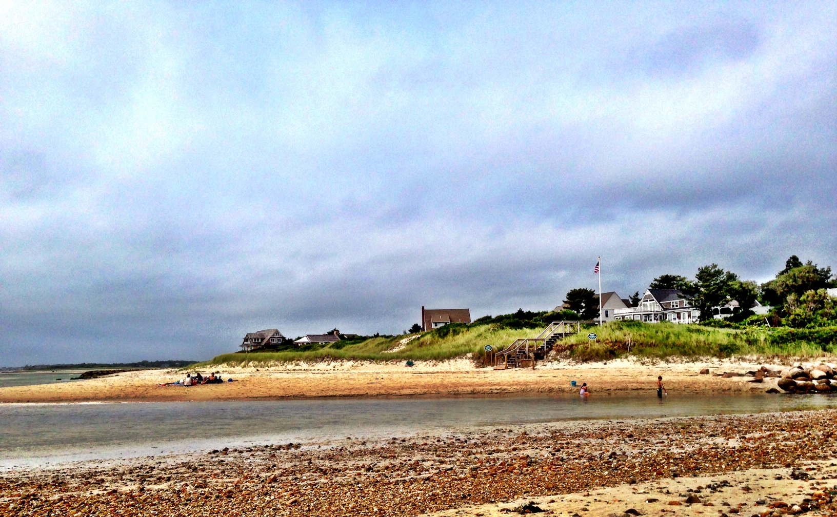 Wood Neck Beach In Falmouth On Cape Cod