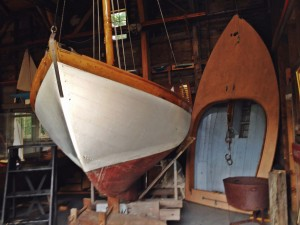 old wooden boats Woods Hole