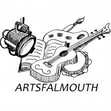 ArtsFalmouth logo with white_0