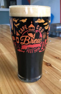 cape cod brew pint glass