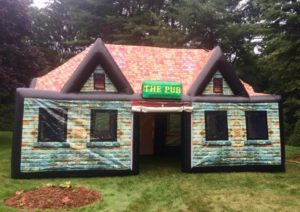 Inflatable Pub for BBQ bash
