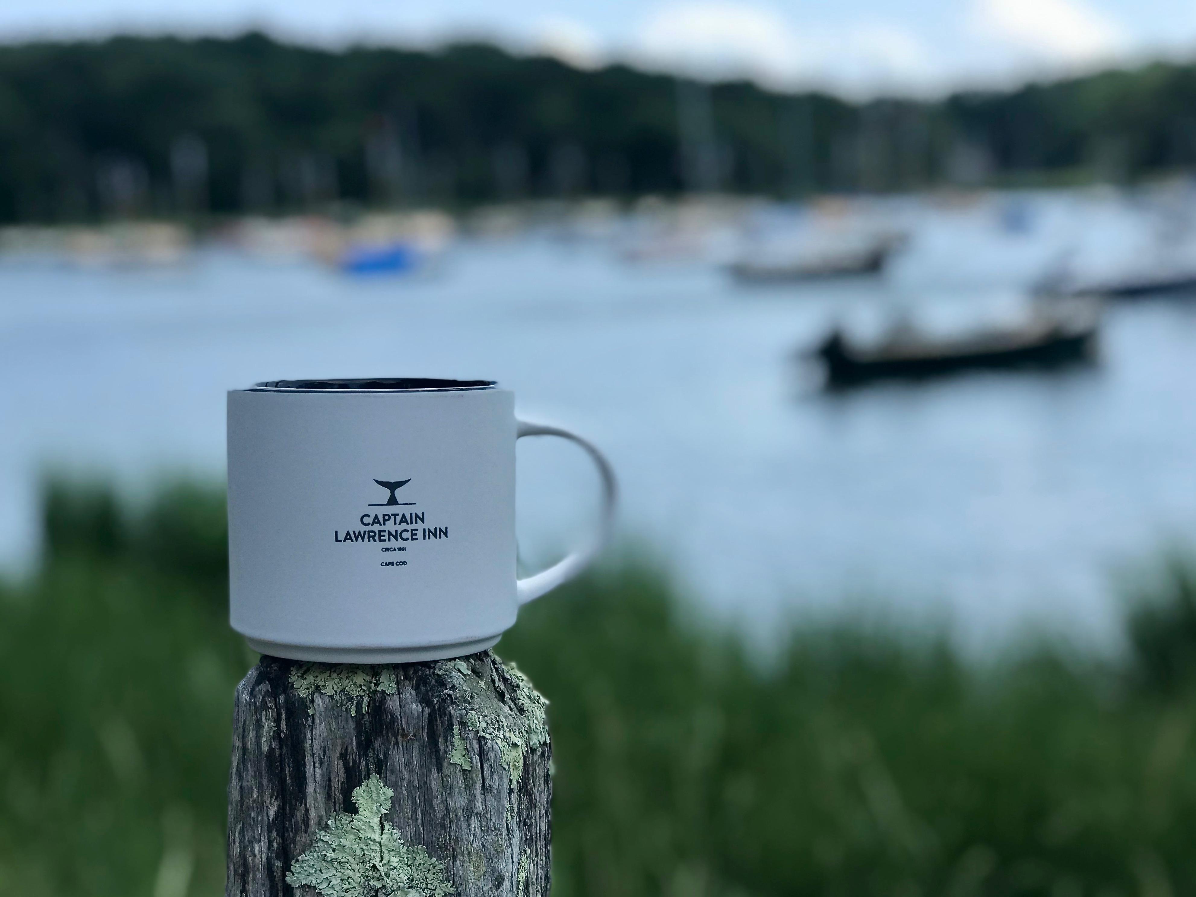 Captain Lawrence Inn coffee mug