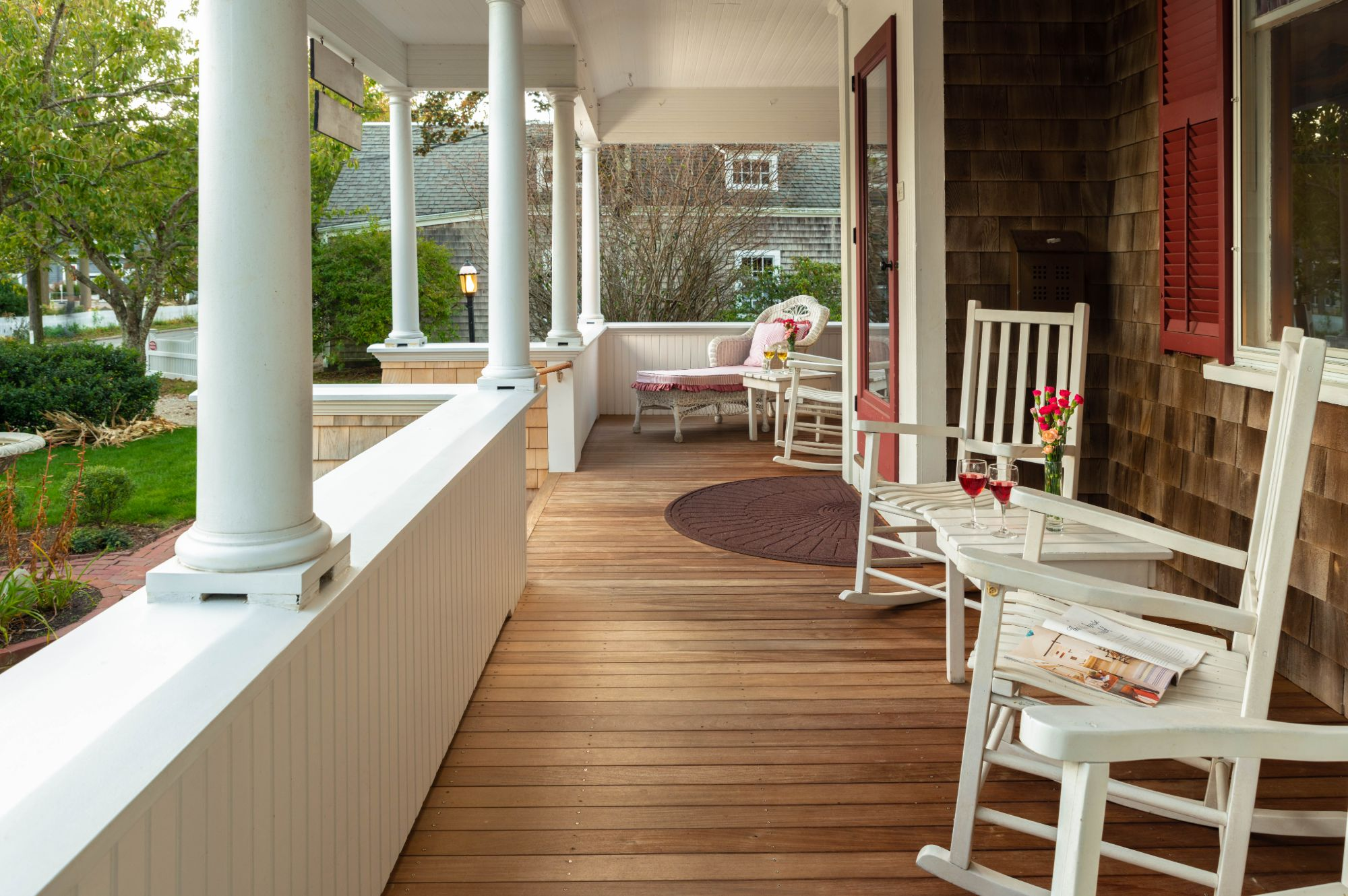 Palmer House Porch